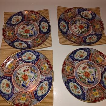 Vintage Imari Ware, Beautiful Plates. - Asian