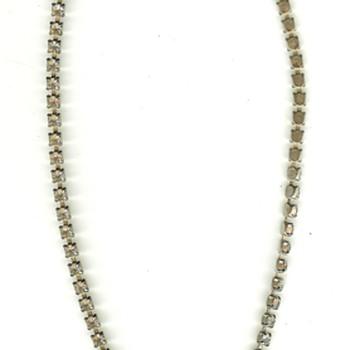 Vintage Rhinstone Choker Necklaces