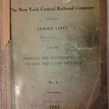 Railroad literature