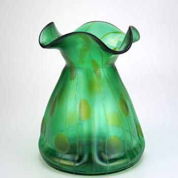 Streifen und Flecken by Kralik (I believe) circa 1900 - Art Glass