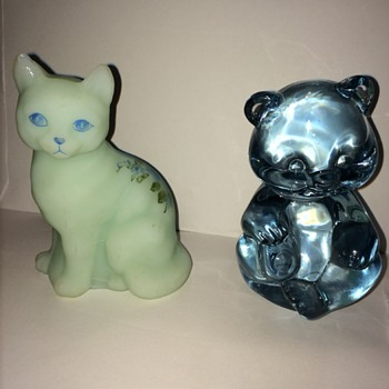 Fenton Animals - Art Glass