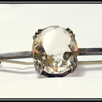 Vintage Brooch -- Sterling Silver - Fine Jewelry
