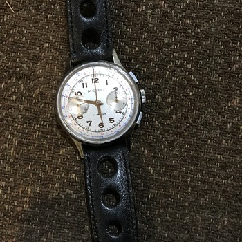 Vintage Merit Chronograh - Wristwatches