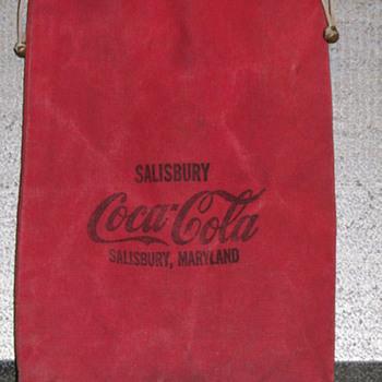 Vintage Coca-Cola Money Bag - Coca-Cola