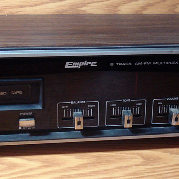 Empire 8 Track AM-FM Multiplex Stereo