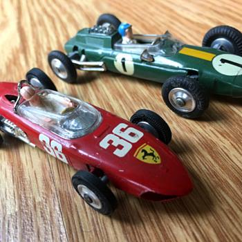 Corgi Formula 1 Racers, Ferrari and Lotus - Model Cars