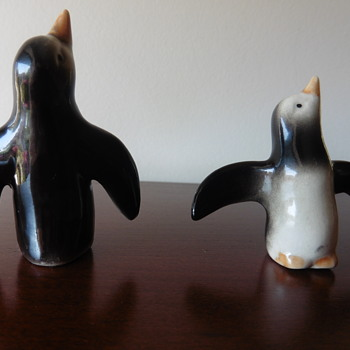 Friendly and little penguins - Figurines