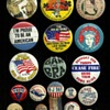 A little mixture of American Pinback Buttons