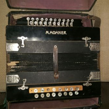 Vintage M Hohner accordion