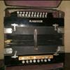 Vintage M Hohner accordion