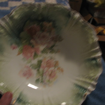 Red Label R.S.  Prussia Master Bowl 10inch with markings - China and Dinnerware