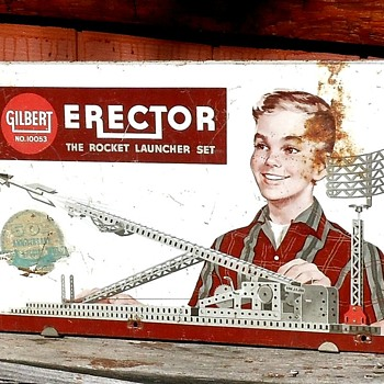 Gilbert Erector The Rocket Launcher Set 50th Anniversary Edition