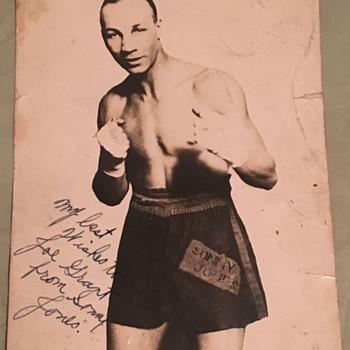 Sonny jones boxer - Photographs