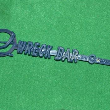 Vintage 1960's the Wreck Bar Swizzle Stick ~ Miami, Florida - Advertising