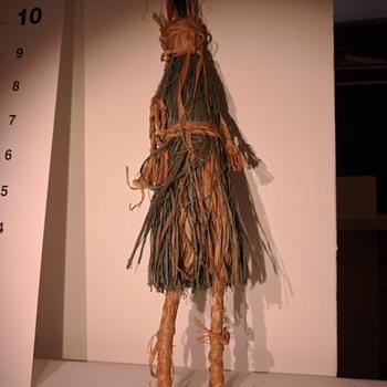 Bast fiber doll is it native american?