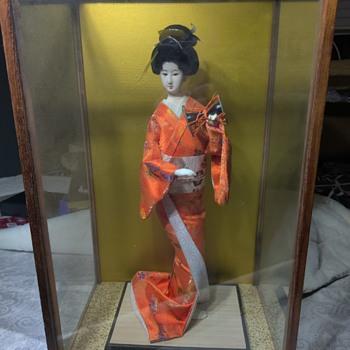 Japanese Geisha Doll vintage - Dolls