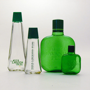 Bottes for AGUA LAVANDA PUIG and AGUA NOBLE, André Ricard (1965/1975) - Bottles