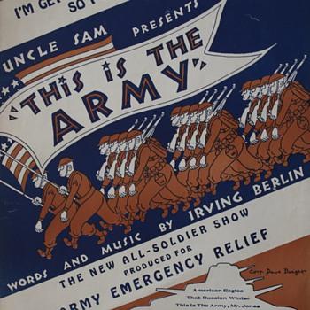 WW II Songsheet…... - Music Memorabilia