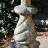 Garden Post - Cement and Stone