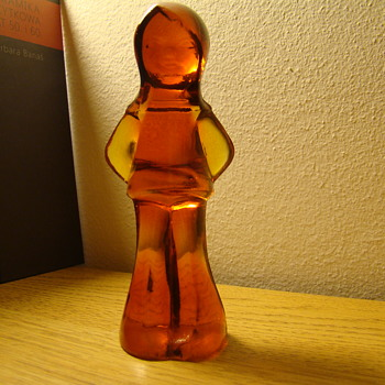 Glass figurine by Eryka Trzewik Drost - Art Glass