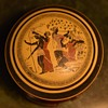 Covered Dish with an Ancient Greek Theme