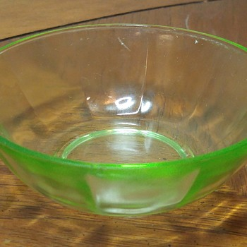 Small Uranium Glass Bowl