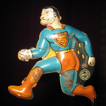 My 1940 Marx Superman Tin Type - Toys