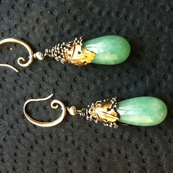 Dorrie Nossiter earrings completed! - Fine Jewelry