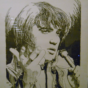 """There Goes My Everything"" ELVIS Paul Blaine Henrie Artist Proof"