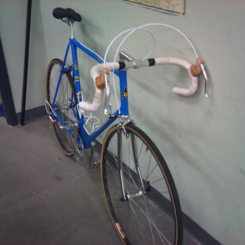 Early 80's Italian steel road bike
