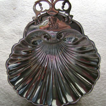 Sterling Shell Dish - Silver