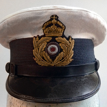 Kaiserliche Marine (Imperial German navy) officer's hat - Military and Wartime
