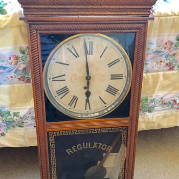 COCA COLA REGULATOR PENDULUM CLOCK - Coca-Cola