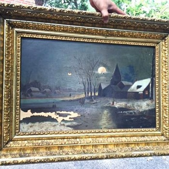 looking for info on this painting? - Fine Art
