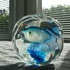 Cenedese fish aquarium paperweight