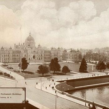 """Provincial Parliament Building"" Victoria - Circa 1917 - Photographs"