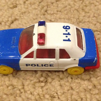 Old looking police car. - Model Cars