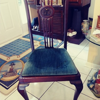 Antique Dinning Chairs - Furniture
