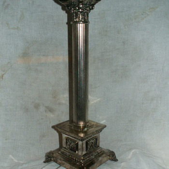 Corithian Column Candlestick Holder ~ Magnetic - Lamps
