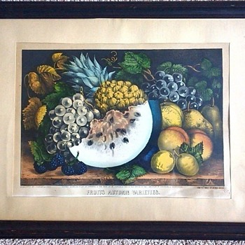 ANTIQUE CURRIER AND IVES LITHOGRAPHS