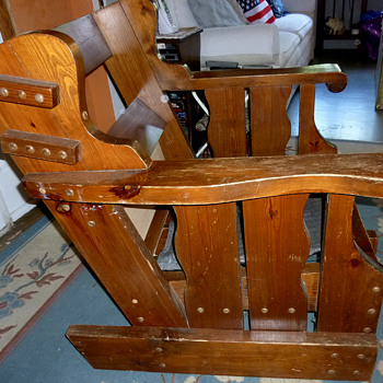 Solid Wood Chair #1 - Furniture