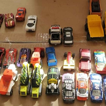 A Variety of Hot Wheel Cars - Model Cars