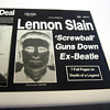 John Lennon / Beatles item, historically significant yet tragically sad...