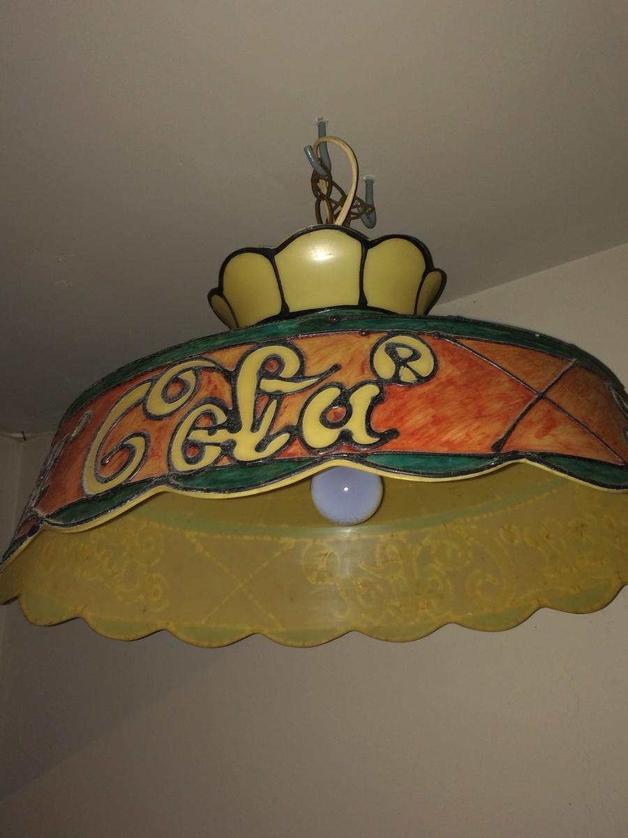 Coca cola lamp shade collectors weekly arubaitofo Image collections