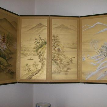 Japanese Byobu Four Screen
