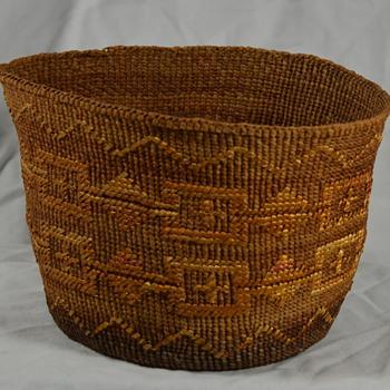 Unknown Native Basket - Native American