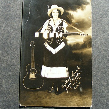 Viola from KMOX  Radio Early 1930's - Music Memorabilia