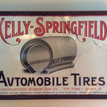 Kelly-Springfield Automobile Tires / Consolidated Rubber Co.