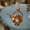 Copper kettle hand formed