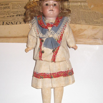 Antique Doll, Made In Germany, 10 inches - Dolls